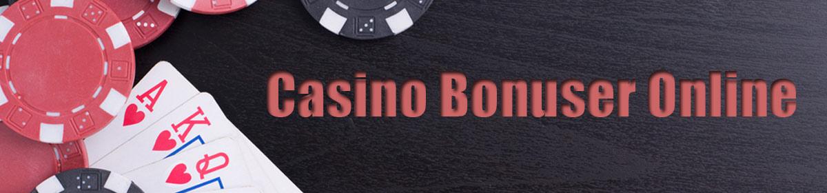 Casino Bonuser Online
